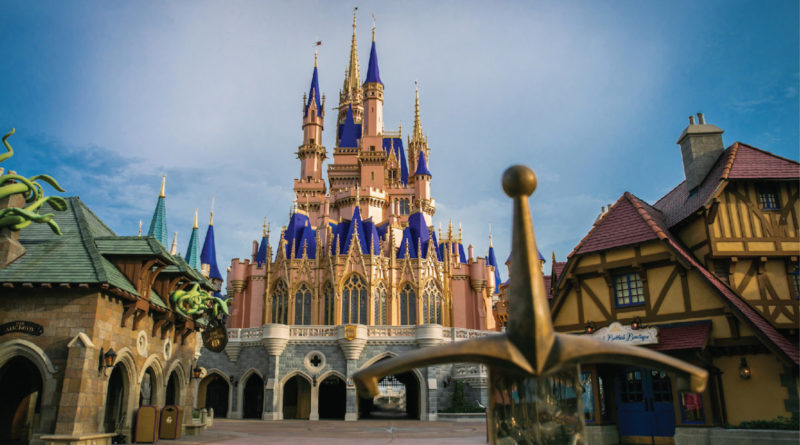Cinderella Castle is Ready to Welcome You Back to Magic Kingdom Park 1