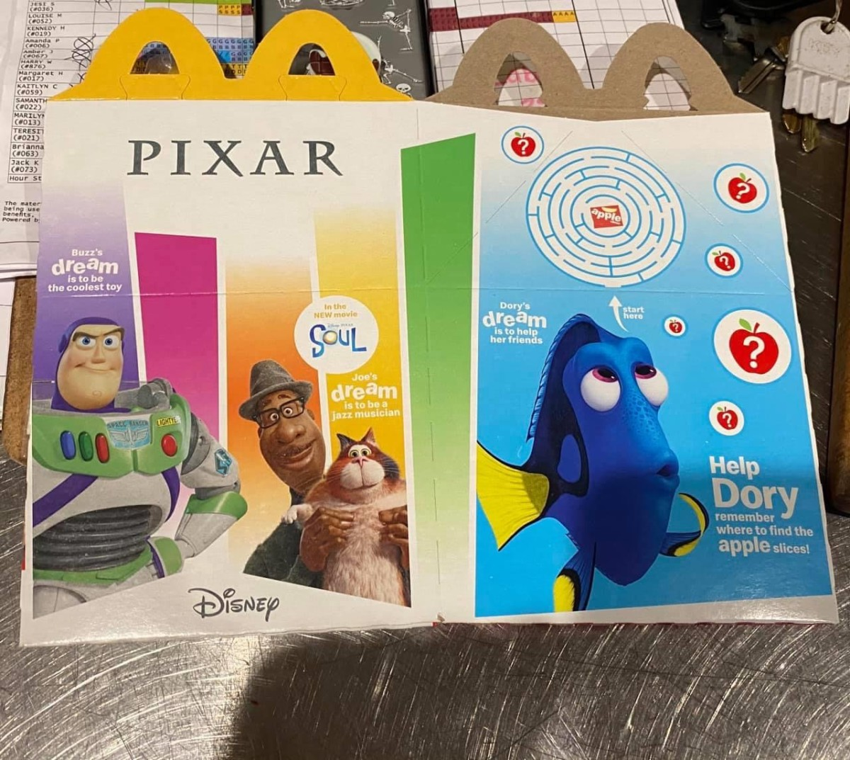 McDonald's Happy Meals Featuring Pixar Characters! 3