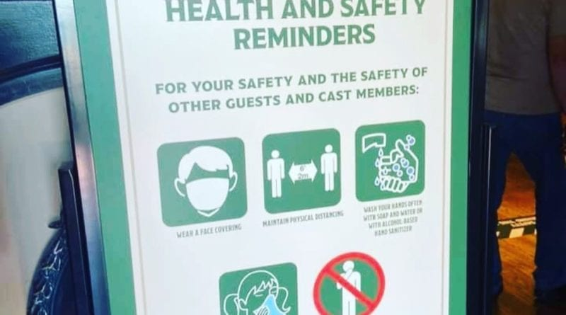 Disney Parks Commitment to Health & Safety Measures 1