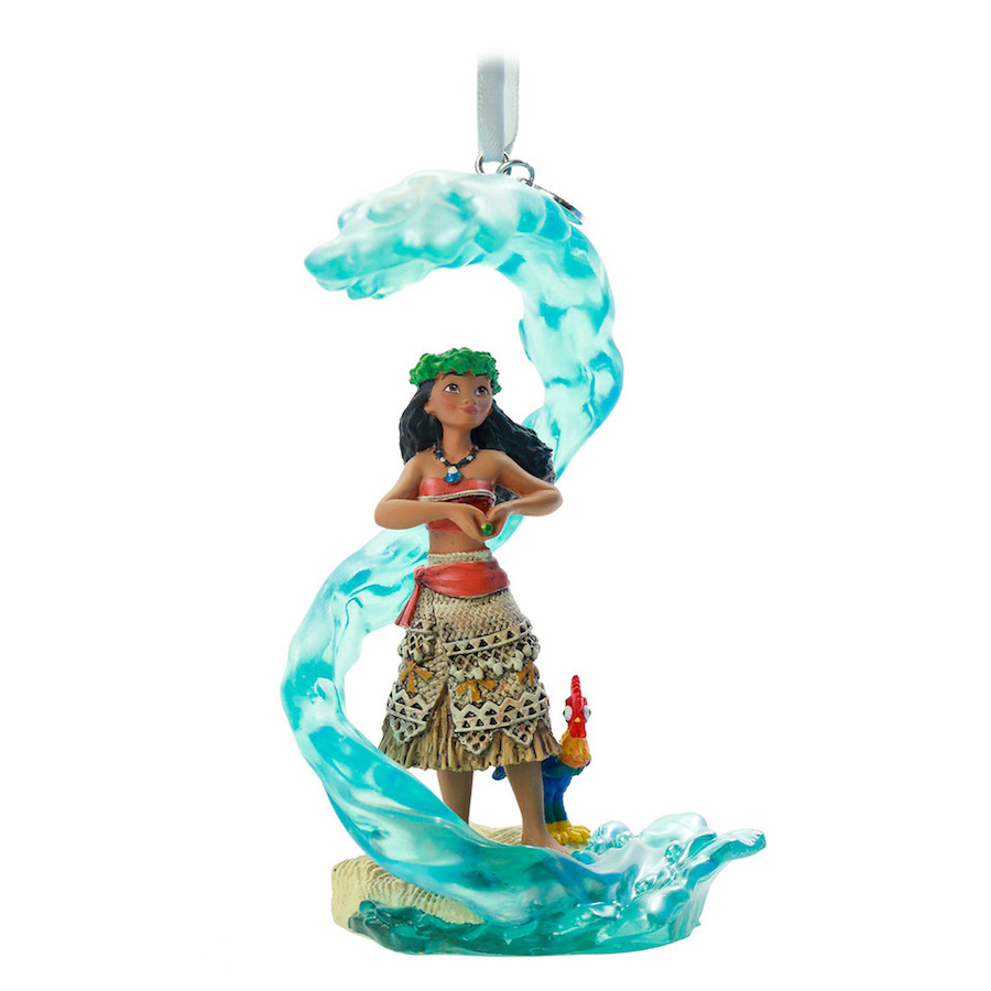 Disney Sketchbook Ornament Fairytale Moment featuring Moana