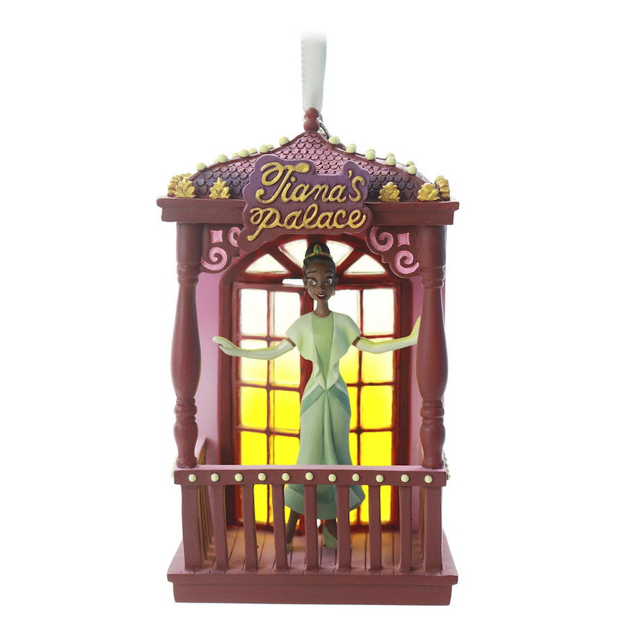 Disney Sketchbook Ornament Fairytale Moment featuring Tiana