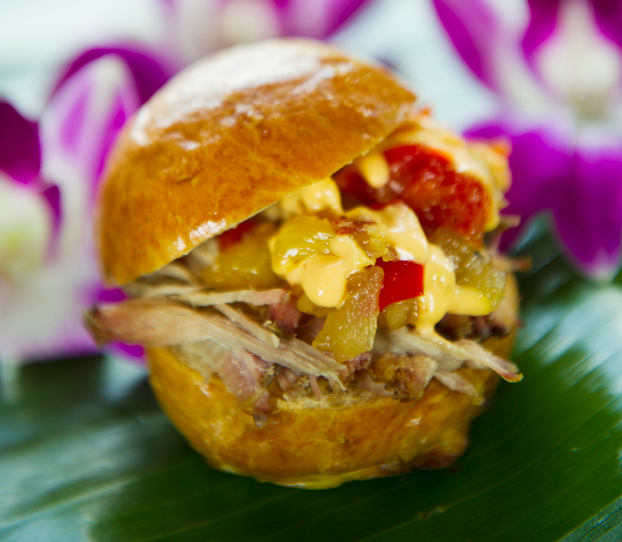 Kālua Pork Slider from Hawaii for the 2020 Taste of EPCOT International Food & Wine Festival