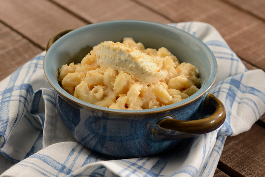 Gourmet Macaroni and Cheese from Mac & Cheese Hosted by Boursin® Cheese for the 2020 Taste of EPCOT International Food & Wine Festival