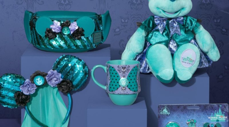 Minnie Mouse the Main Attraction- Haunted Mansion October Line 19