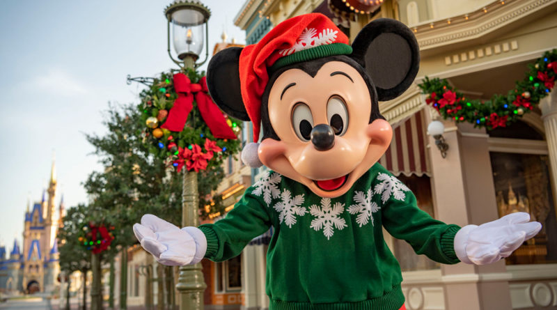 Walt Disney World Resort Holidays Start Nov. 6 3