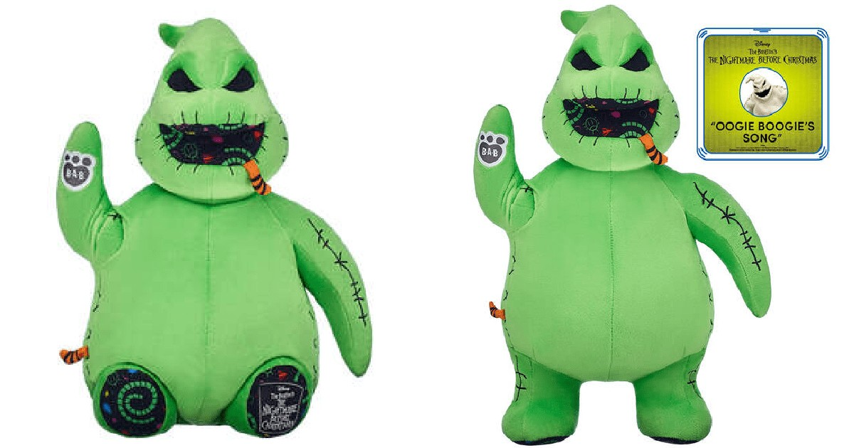 Online Exclusive Oogie Boogie from Build-A-Bear Workshop 1