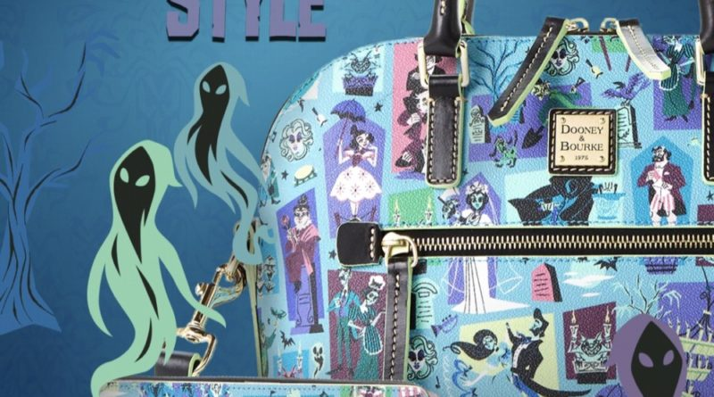 NEW! The Haunted Mansion by Dooney & Bourke 13