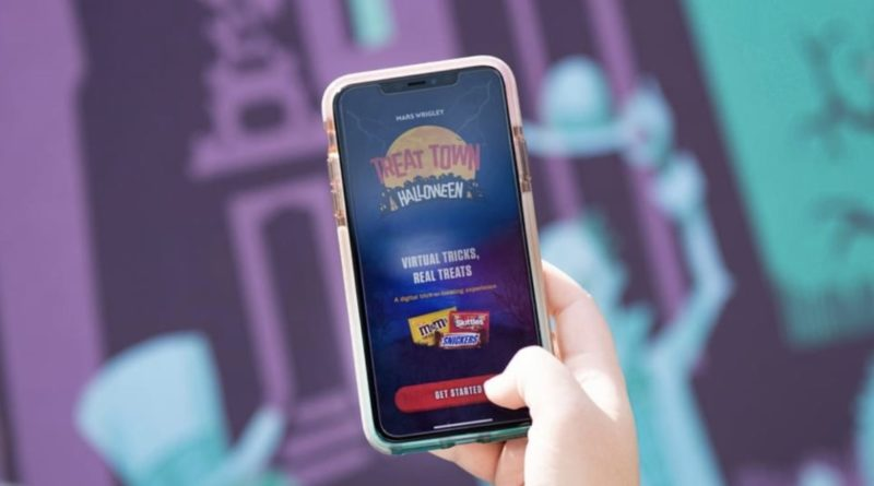 Scare Up Some Halloween Fun with the Mars Wrigley TREAT TOWN App – Now Featuring The Haunted Mansion 2
