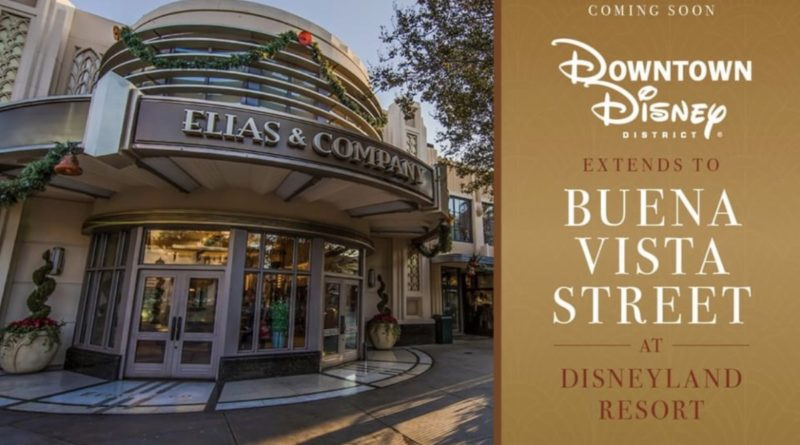 More Shopping, More Dining! Coming Soon: Downtown Disney District at Disneyland Resort Extends to Buena Vista Street 3