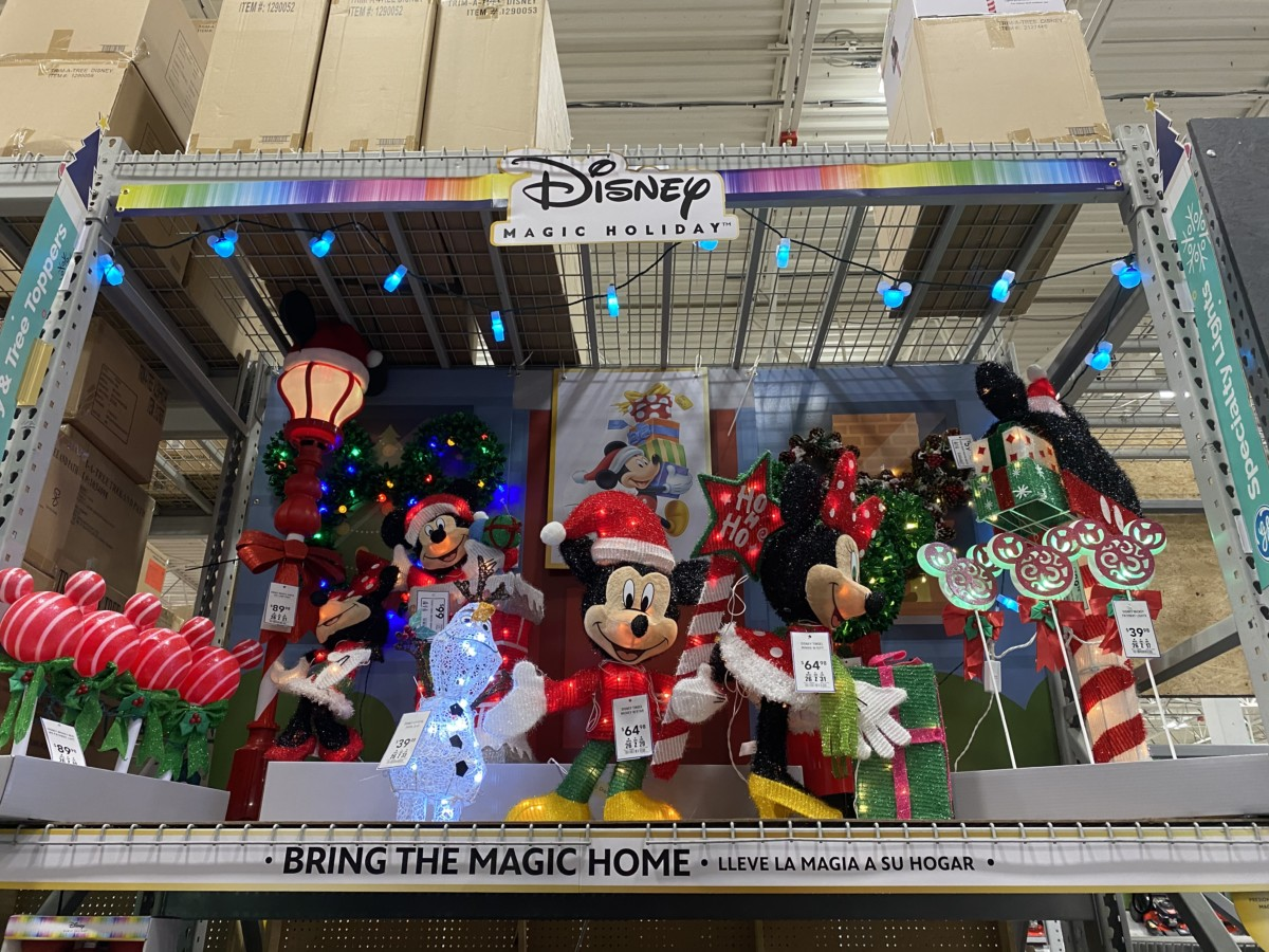 New Disney Christmas Decor Now At Lowe S