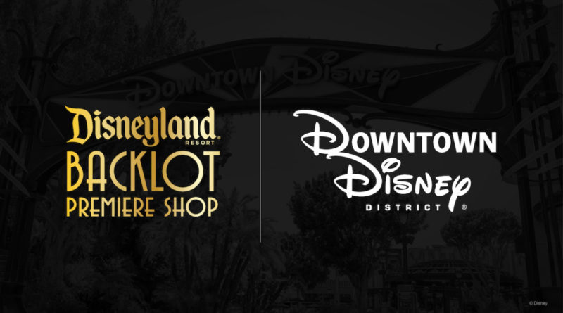 Fall is Filled With Halloween Merchandise Collections Featuring New Disneyland Resort Backlot Premiere Shop Coming Soon to Stage 17 in Downtown Disney District 12