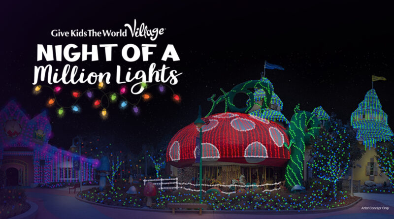 #DisneyMagicMoments: Walt Disney World Helps Light Up Give Kids The World Village this Holiday Season 1